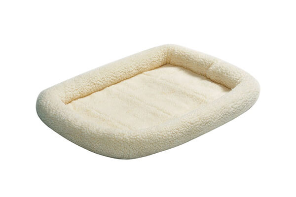 Midwest deluxe bolster pet bed for cats and dogs