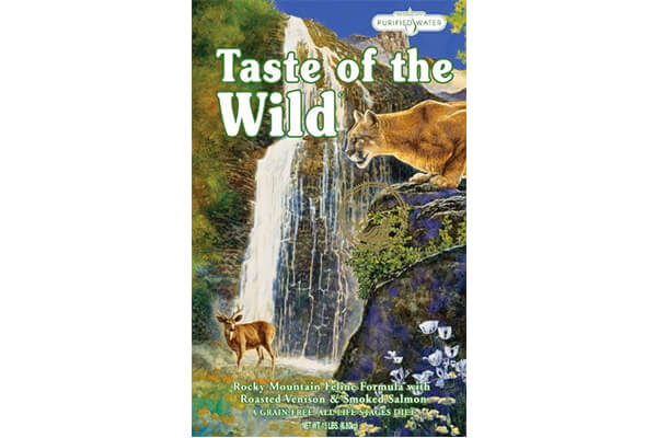 Test of the wild cat food