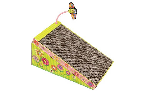petmate fat cat big mama's scratch and play ramp for cats