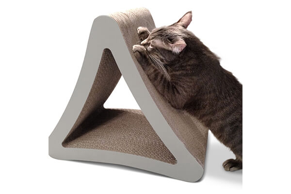 petfusion 3- sided vertical cat scratcher and post