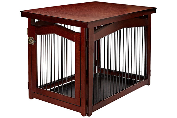 Merry 2 in 1 configurable pet crate and gate