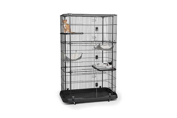 Prevue pets products premium 4 level cat home