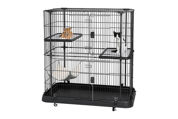 Prevue pet products premium 3 level cat home