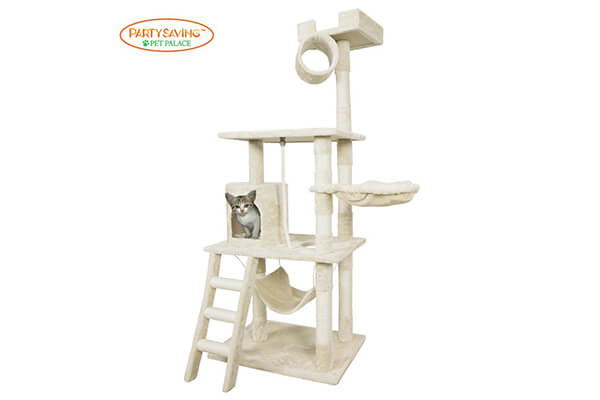 Party saving cat tree kitten activity tower condo