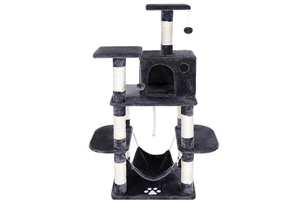 SONGMICS cat tree condo with scratching