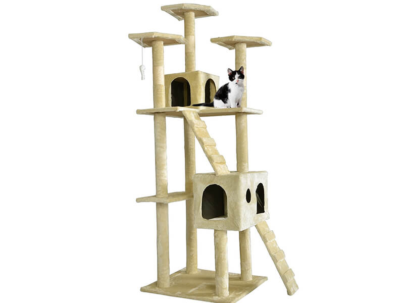 Top 10 Best Cat Trees for Multiple Cats in 2018 Reviews