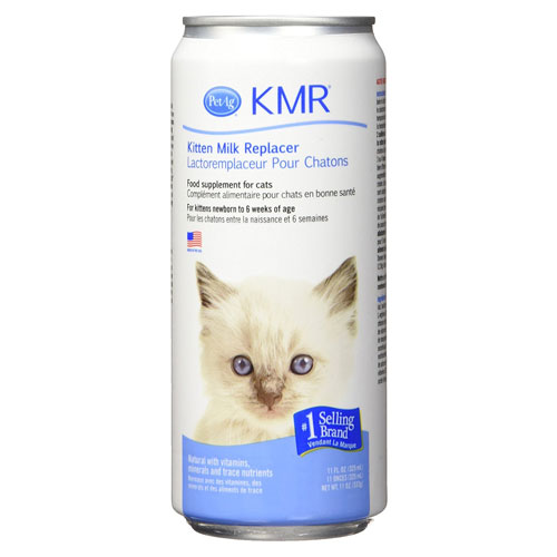 Pet Ag KMR Milk Replacer Food Supplement for Kittens and Small Animals Liquid