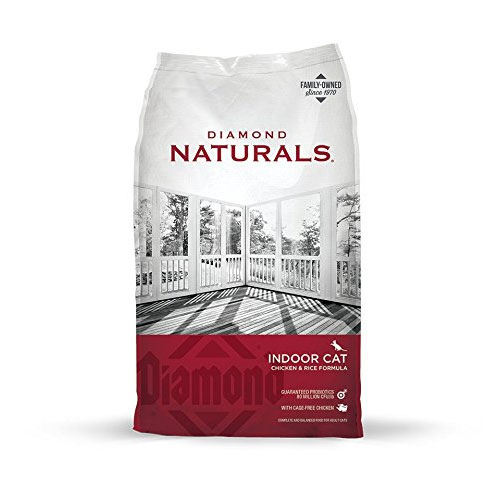 Diamond Naturals INDOOR Real Meat Recipe Natural Dry Cat Food