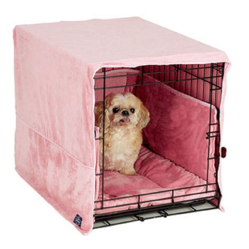 New Double Door 3 Piece Crate Bedding Set. THE ORIGINAL CRATE Fits Midwest Crate - by Pet Dreams