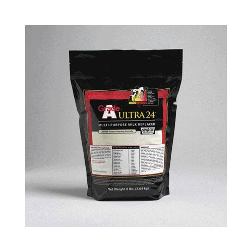 Milk Products Grade A Ultra Milk Replacer, 8-Pound