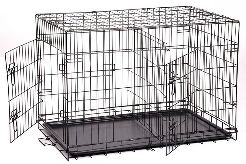 Top 10 Best Double Door Dog Crate in 2019 Reviews