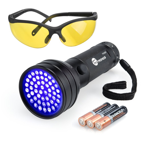 TaoTronics UV Flashlights 51 Ultraviolet Urine Detector