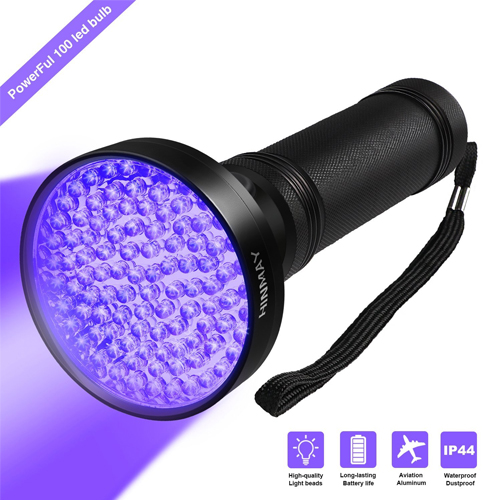 Hinmay UV Blacklight Flashlight