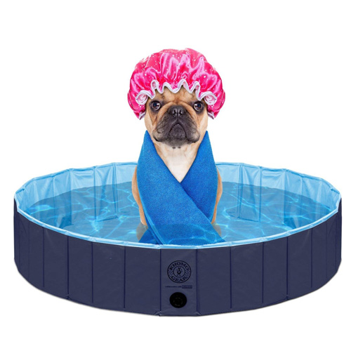 Outdoor Swimming Pool Bathing Tub - Portable Foldable - Ideal for Pets