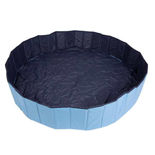 Pettom Pet Swimming Pool Foldable PVC Dog Cat Paddling Bathing Tub Summer Bathtub