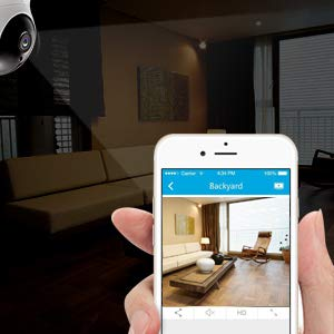 Mobile app that connects to video camera