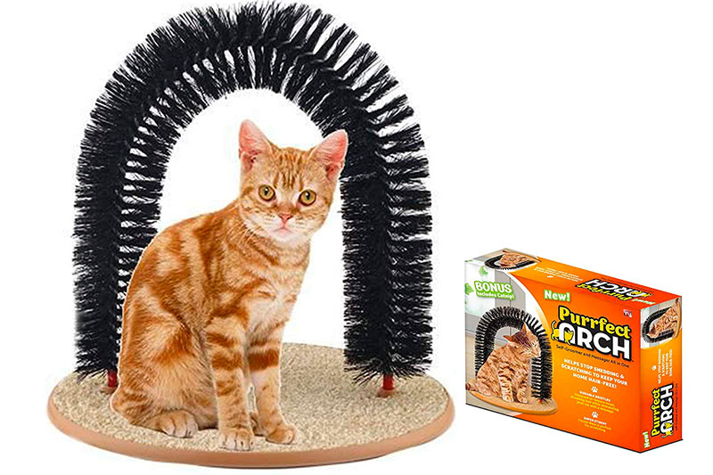 Top 10 Best Cat Self Grooming Arch of 2021 Review
