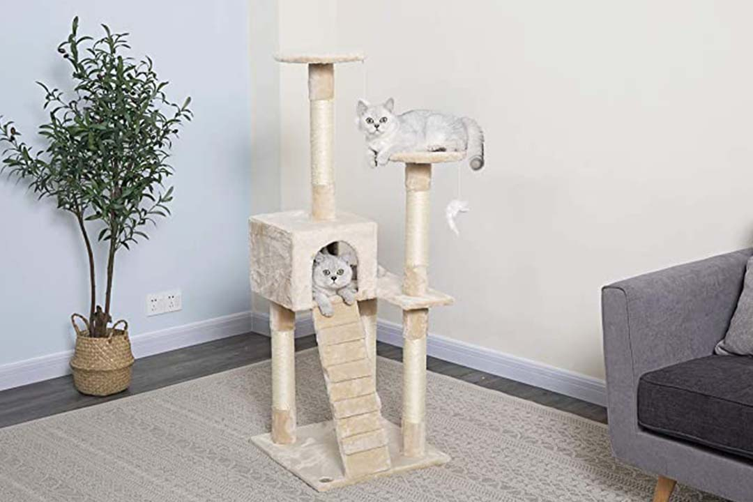Go Pet Club Cat Free Furniture Beige