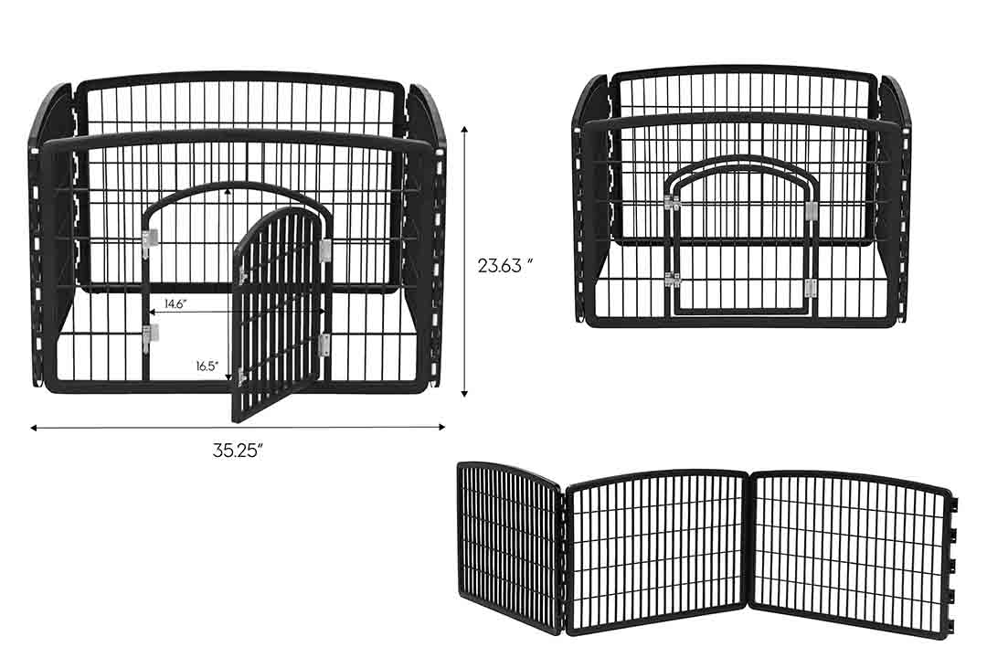 IRIS Pet Playpen with Door