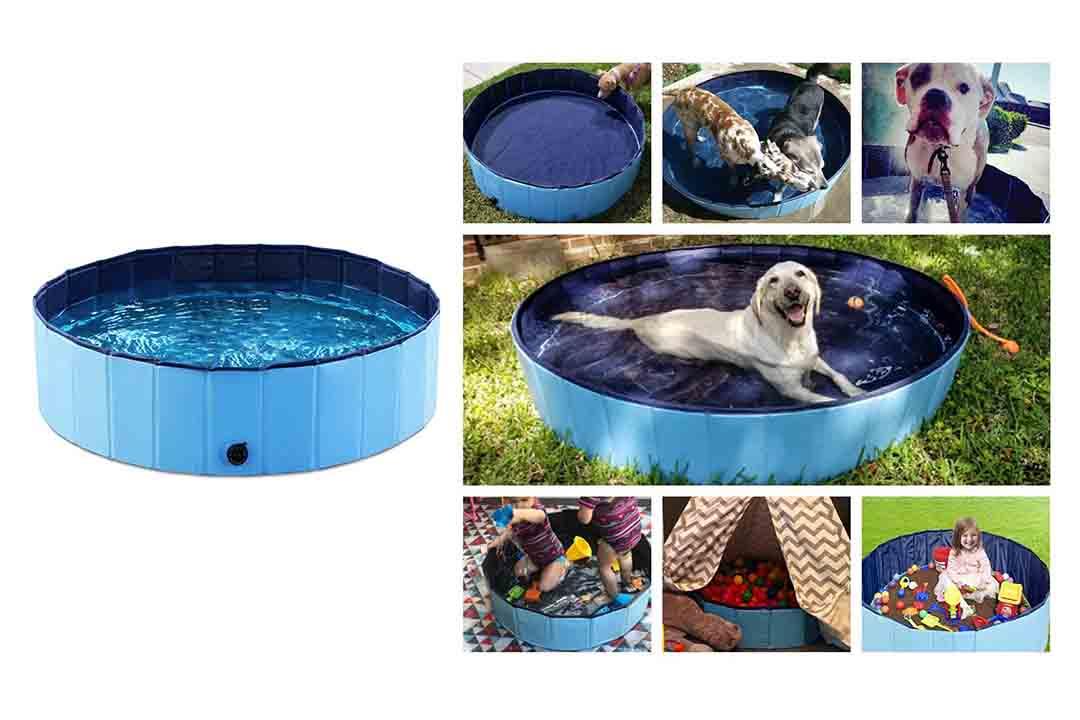 Jason well Foldable Dog Pet Bath Pool