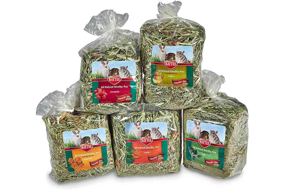 Kaytee Timothy Hay Plus Variety Pack, 50-oz bag