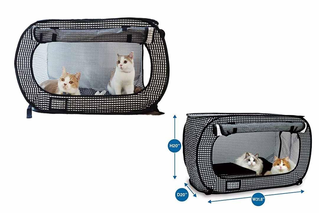 Necoichi Portable Cat Cage Stress Free Trip