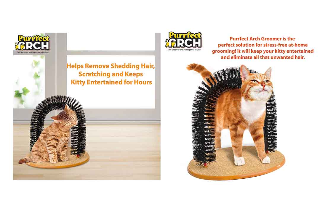 Purrfect Arch Self Grooming and Massaging Cat Toy