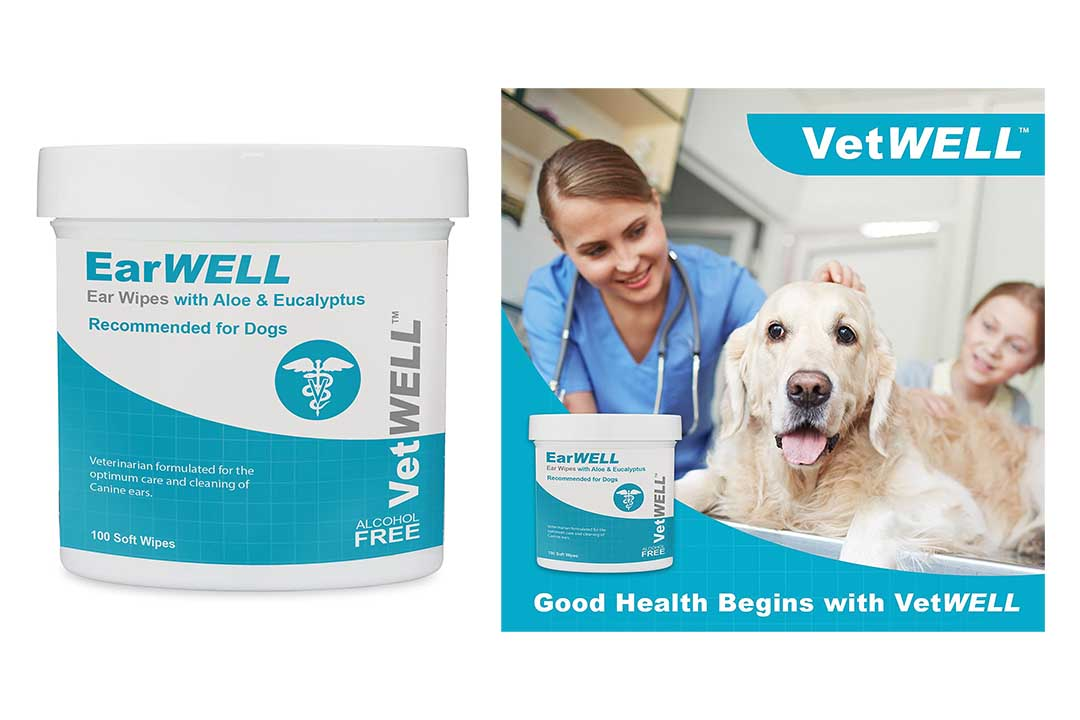 VetWELL Dog Ear Wipes - Otic Cleaning Wipes