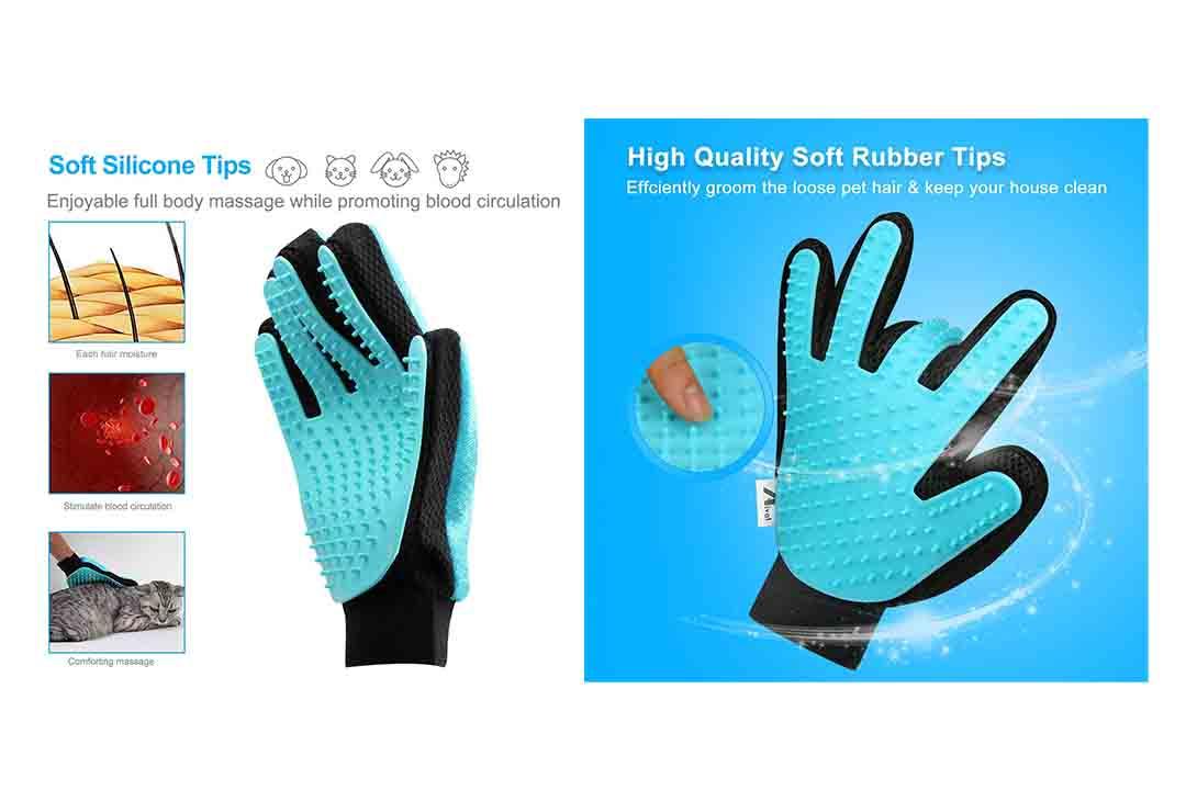 Aival Pet Grooming Glove 2