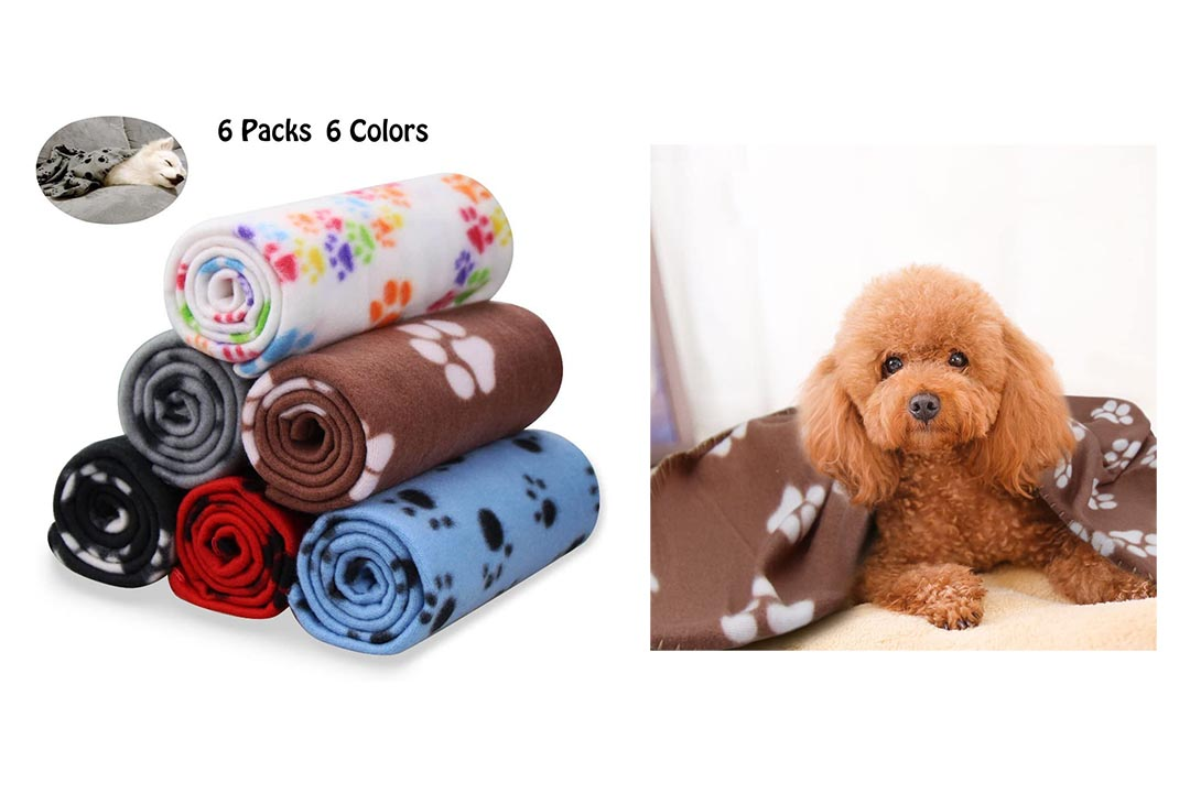 Comsmart Pet Fleece Blanket