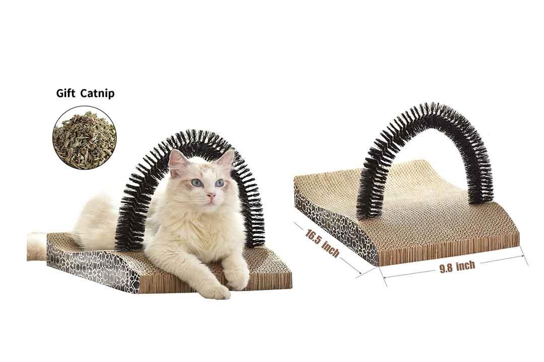 FUKUMARU Pet Fur Grooming Cat Scratching Pads