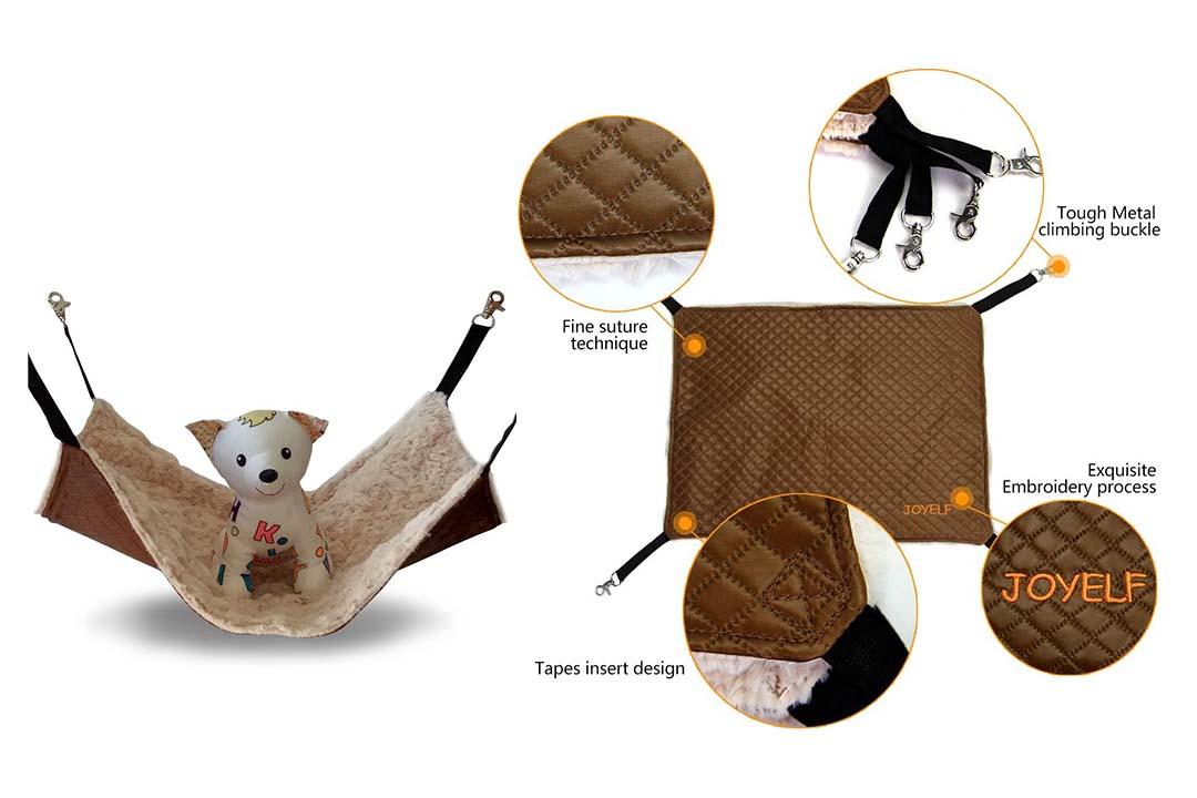JOYELF Cat Hammock Bed Pet Cage Hammock