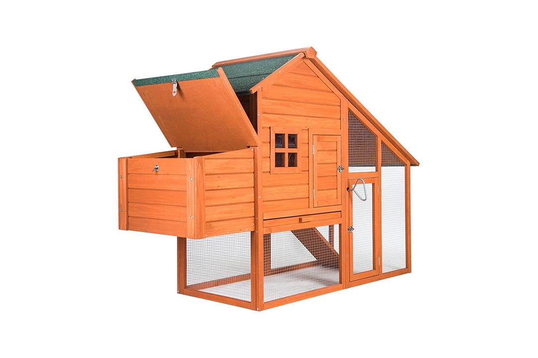 Merax Chicken Coop Rabbit Hutch Wood House