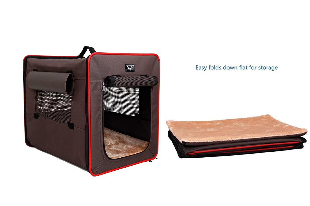 Pets Fit Foldable Soft Sided Home Pet Kennel