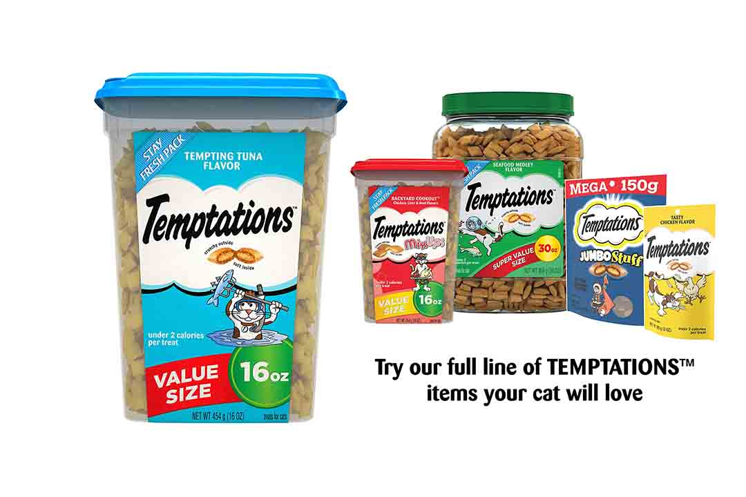Temptations Classic Treats for Cats Tempting Tuna Flavor