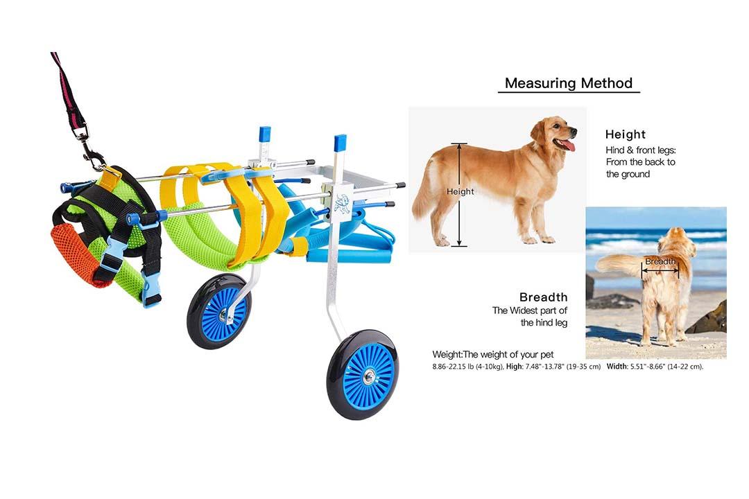 BEETLA Adjustable Pet Wheelchair