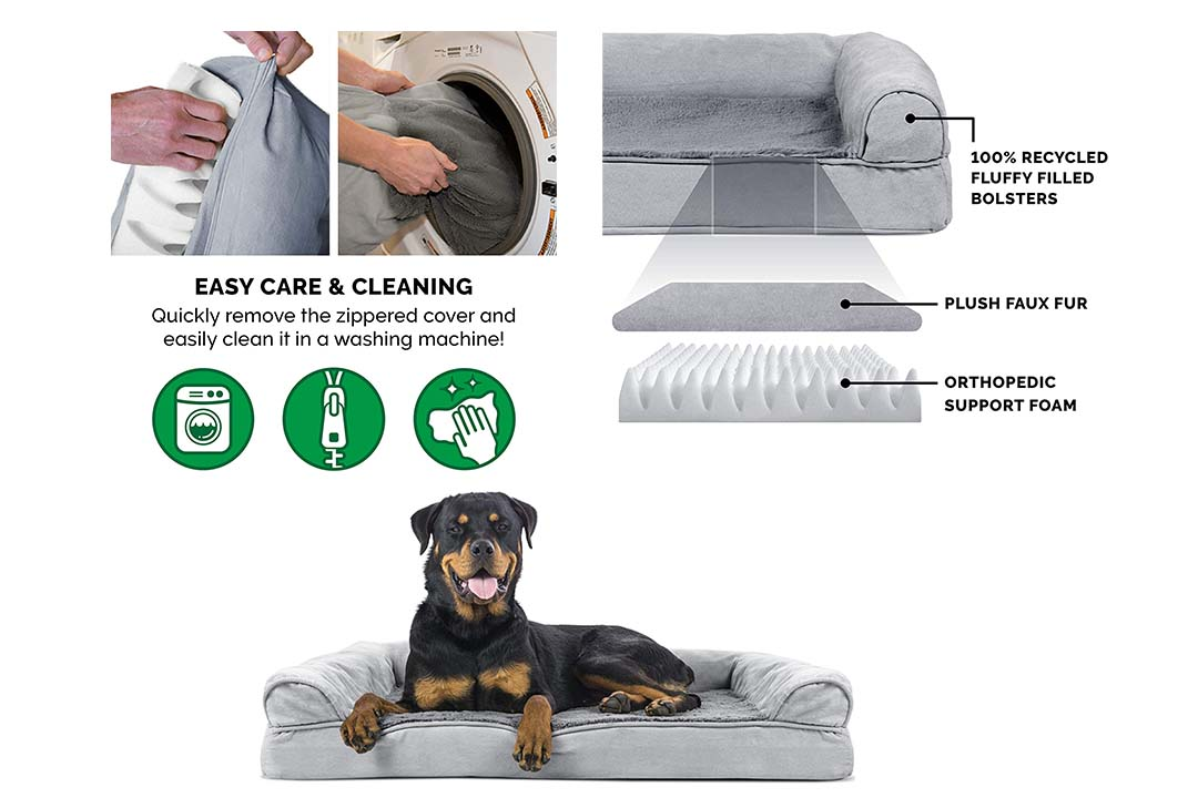 Furheaven Orthopedic Dog Sofa Bed