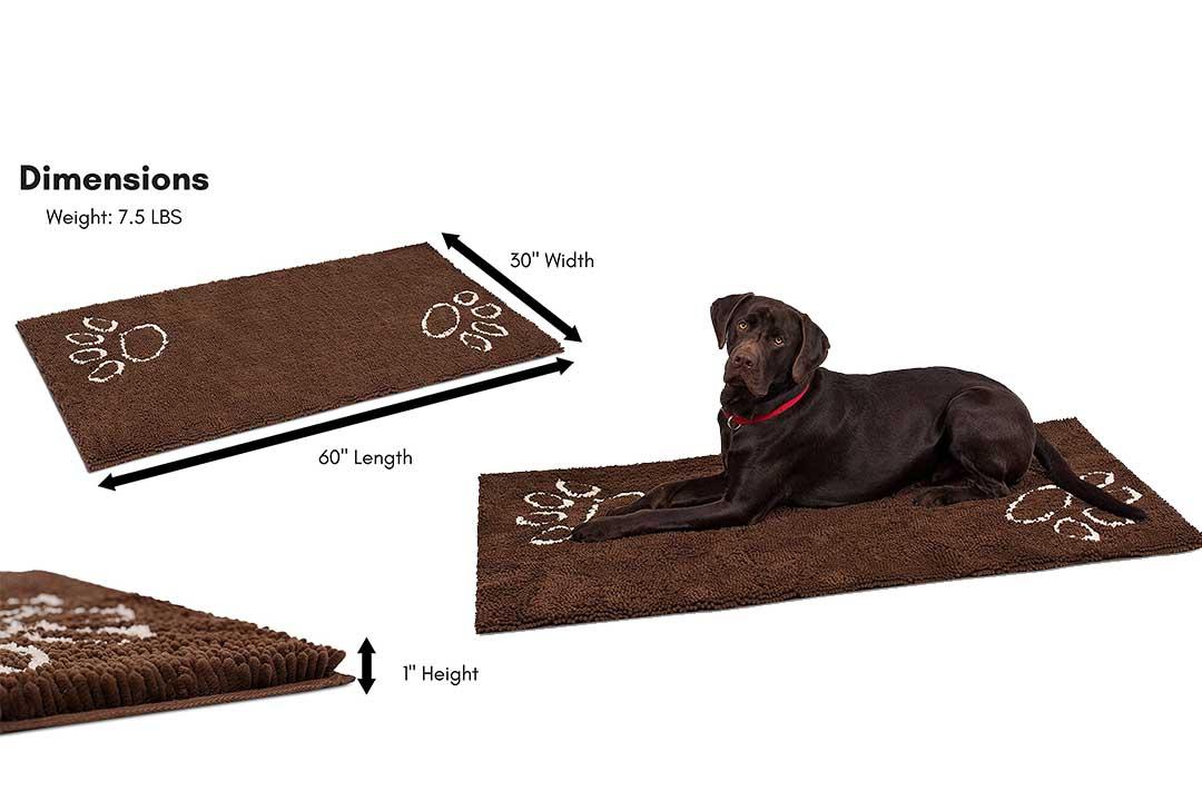 Internet's Best Chenille Dog Mat