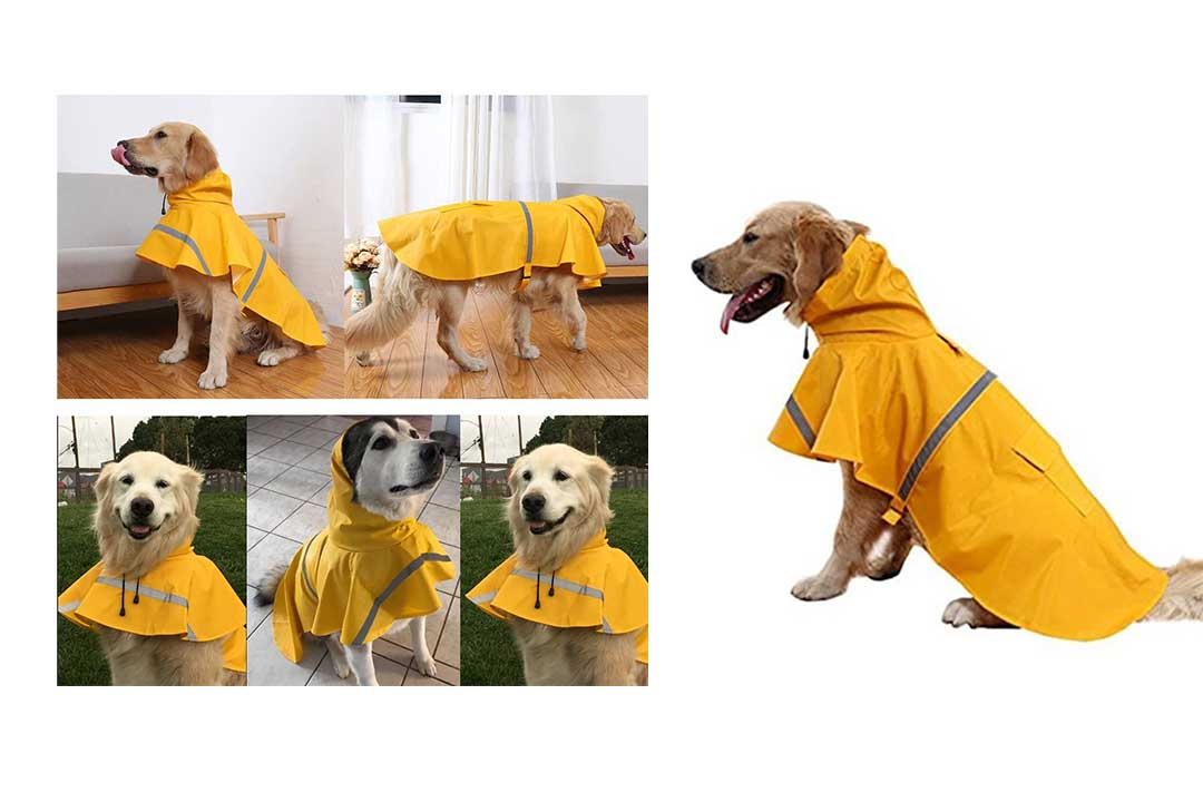 NACOCO Large Dog Raincoat
