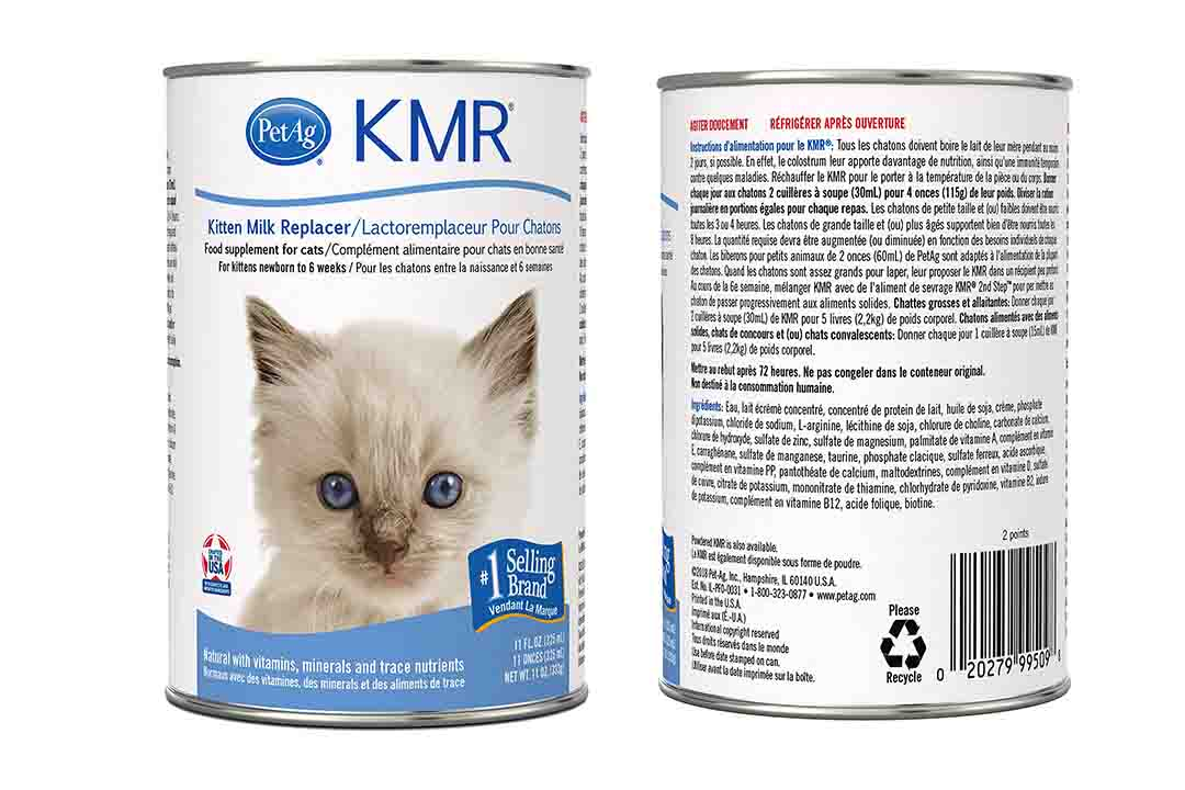 Pet Ag KMR Milk Replacer Food Supplement for Kittens