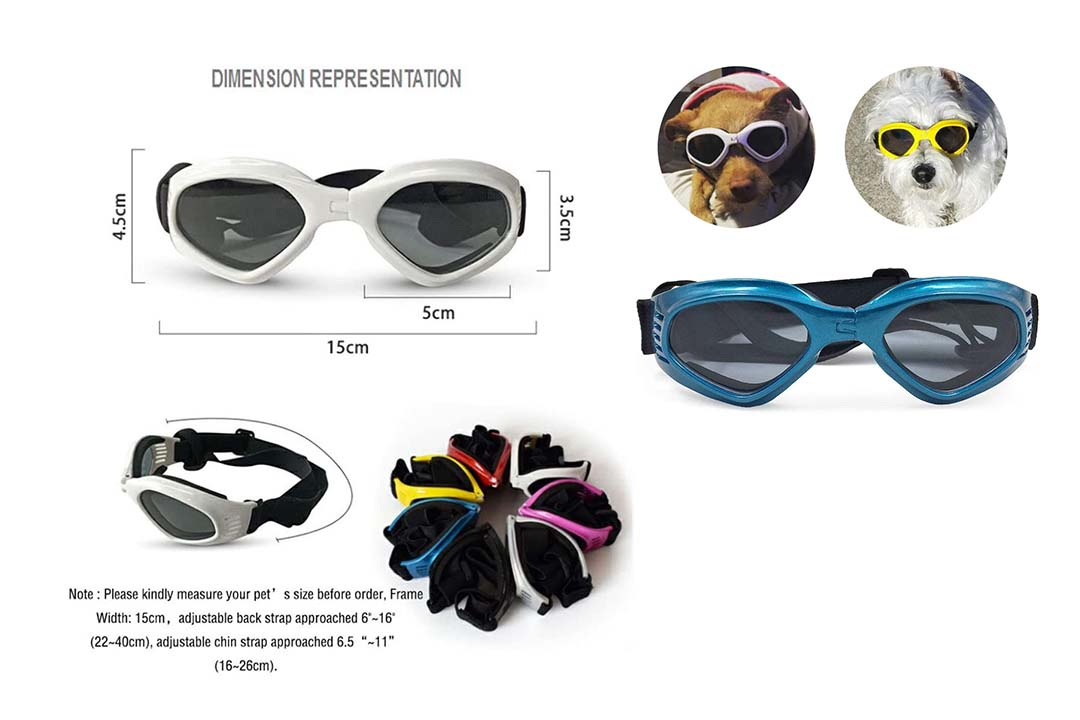 PetBoBo Anti-Fog Eye Protection Goggles