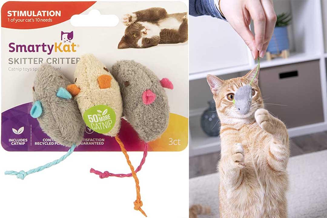 SmartyKat Catnip Mice
