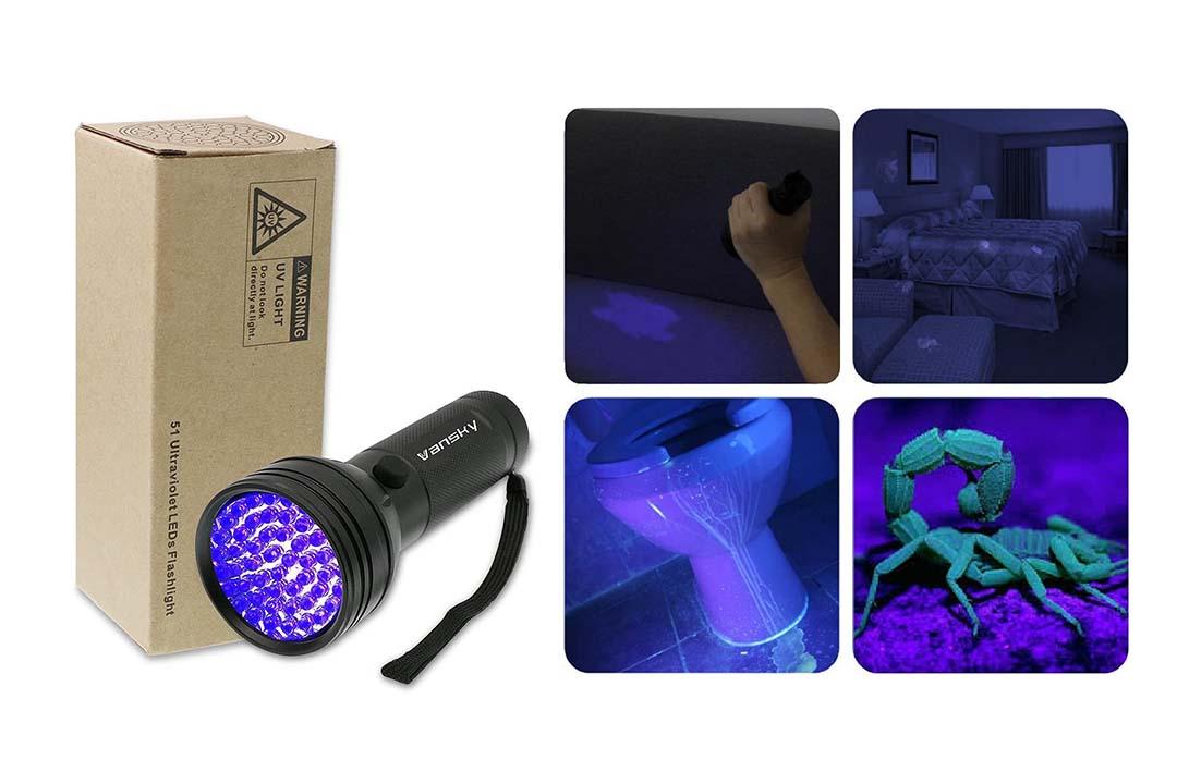 UV Flashlight Blacklight UV Lights