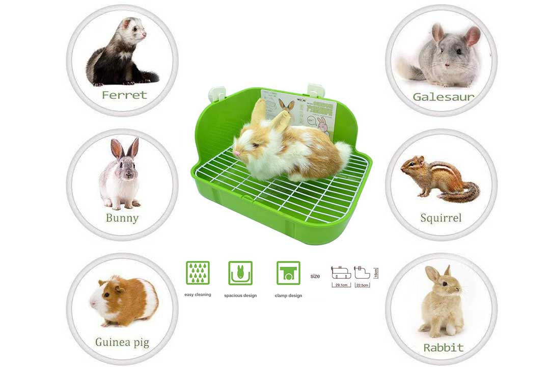 WYOK Rabbit Litter Box Toilet