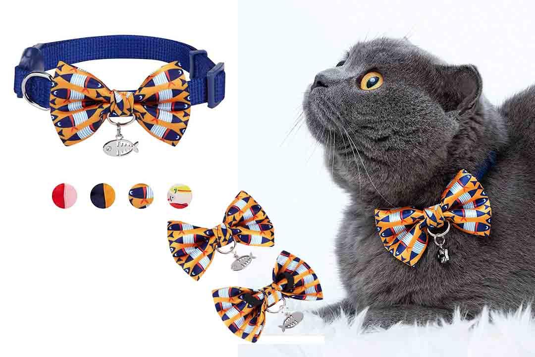 Blueberry Pet Breakaway Safety Cat Collar
