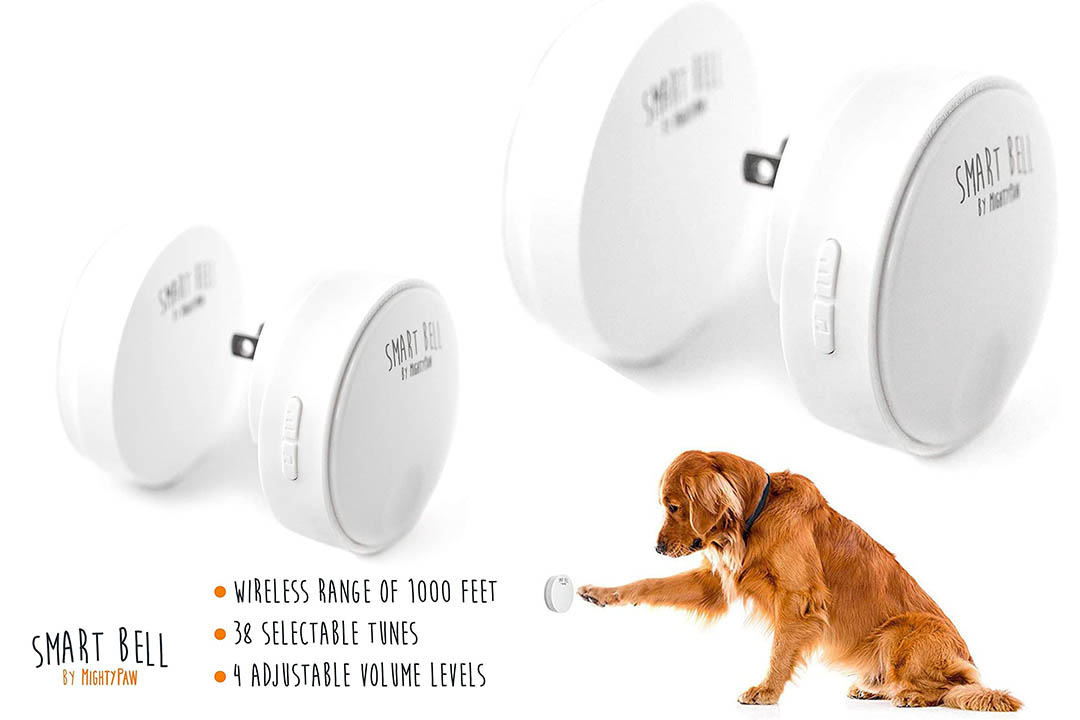 Mighty Paw Smart Bell 2.0, Dog Potty Communication Doorbell