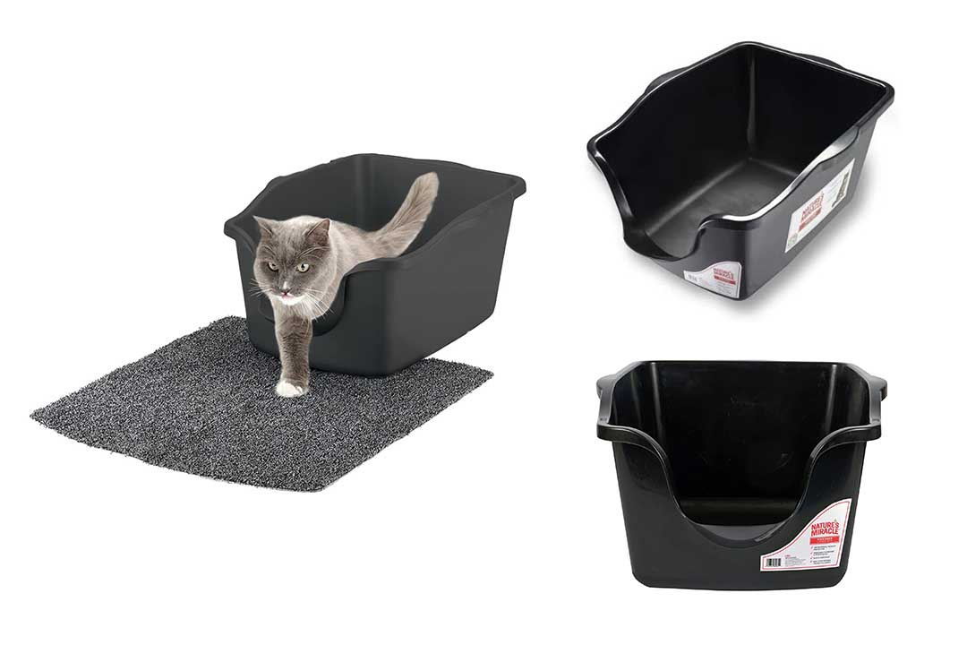 Nature's Miracle High-Sided Litter Box