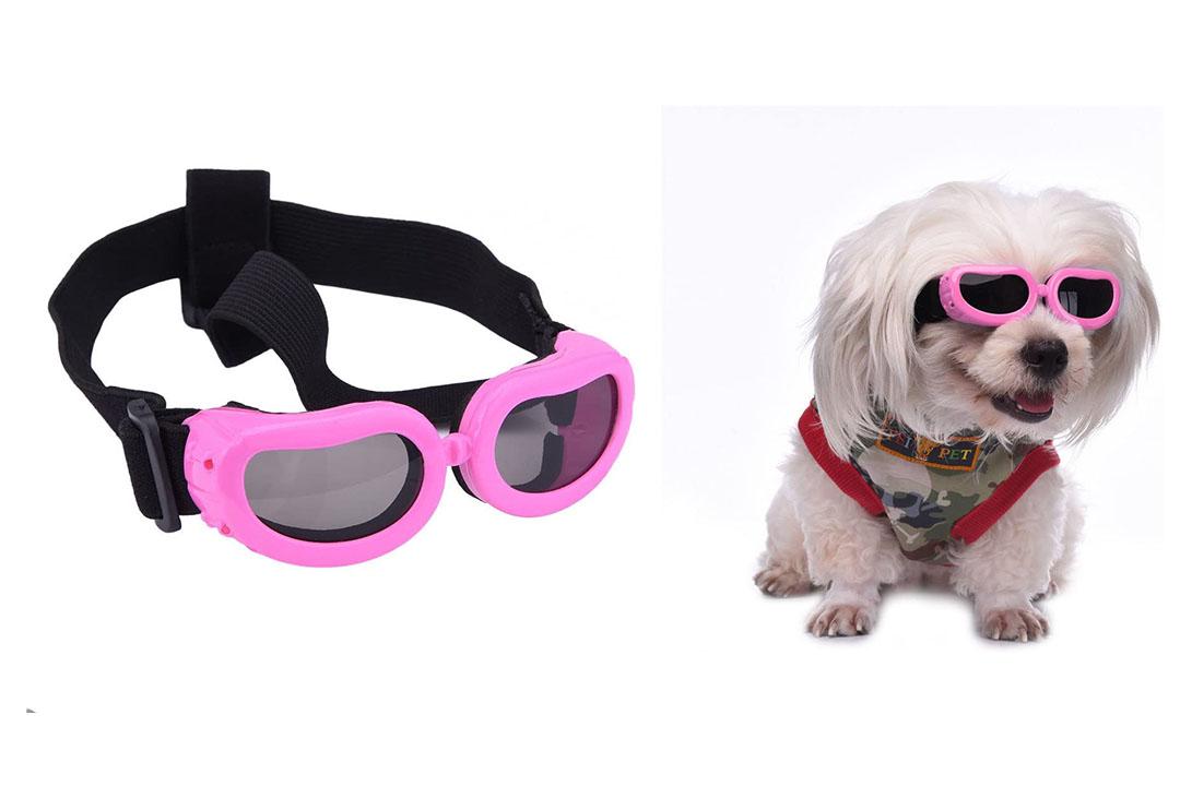Outdoor Dog Sunglasses Anti-UV Eye Protection Goggles