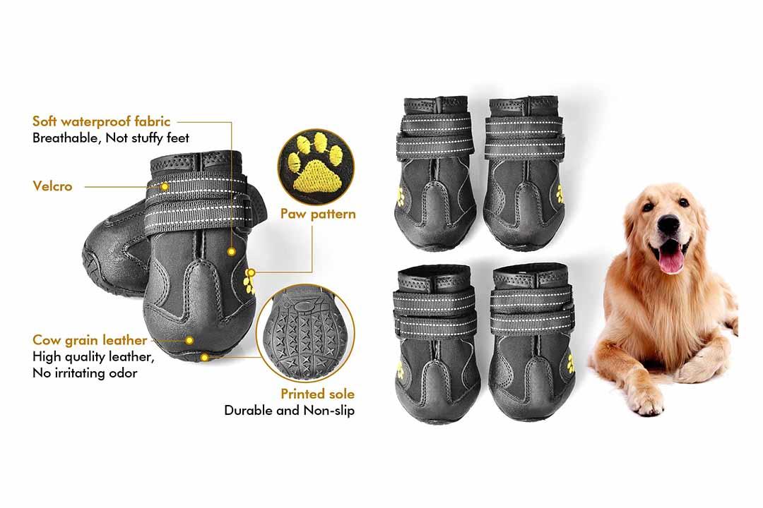 PUPWE Dog Booties, Dog Shoes