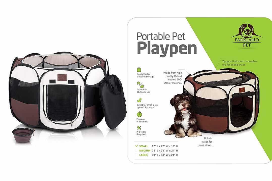 Parkland Pet Portable Foldable Playpen
